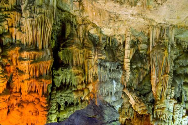Grotten op Kreta