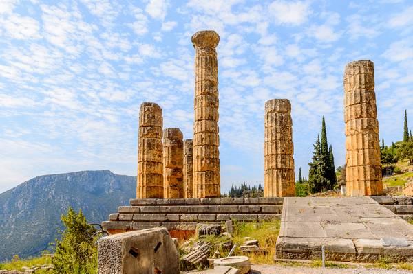 Apollotempel Delph