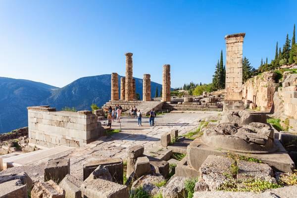 Apollotempel Delphi